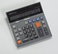 Revisor bordregner solar 12 cifre uden strimmel