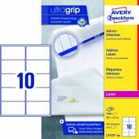 Avery L7173-100 QuickPEEL adresse etiketter 99,1x57mm hvid