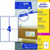 Avery shipping etiket L7169-100 139x99,1mm hvid