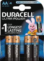 Duracell Ultra Power batteri AA, pakke a 4 stk
