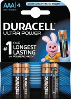 Duracell Ultra Power AAA batterier MX2400, pakke a 4 stk