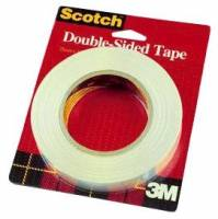Scotch dobbeltklæbende tape 12,7mmx32,9m klar