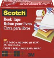 Tape 3M bogtape 845 Klar 38mmx14m