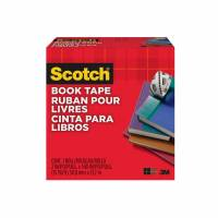 Scotch bogtape 50mmx14m 845 klar transparent