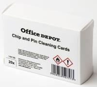 Office Depot rensekort med chip og magnet, 20 stk