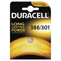 Duracell batteri 386/301 1,5V Silver Oxide
