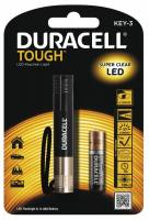 Duracell Though KEY-3 LED lommelygte
