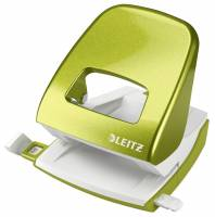 Leitz WOW 5008 hulapparat 2-huls grøn, 30 ark