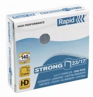 Rapid hæfteklammer galvaniseret 23/15 strong, 1000 stk