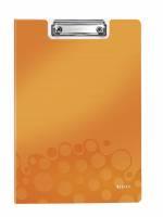 Leitz WOW clipboard med forside A4 orange