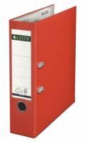 Leitz 180° brevordner A4 80mm lys rød