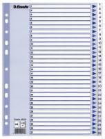 Esselte register PP A4 1-31 hvid