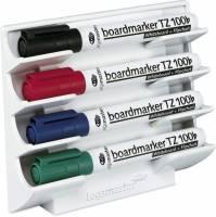 Legamaster magnetisk whiteboard penneholder til 4 stk