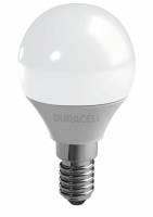 Duracell pære Mini 3,4W/25W LED E14 globe frosted, 3 stk