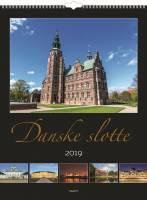 Mayland vægkalender med Danske slotte 29,5x39cm
