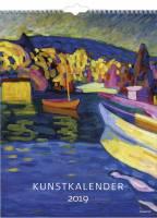 Mayland vægkalender Kunst 29,5x39cm 19066150