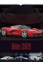 Mayland vægkalender Biler unikke biler 2019
