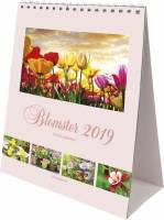 Mayland bordkalender A5 15x21cm Blomster
