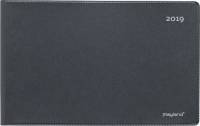 Mayland mini bordkalender vinyl sort 15x9cm Uden stativ
