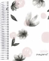 Mayland timekalender blomster soft touch trend 1dag pr side