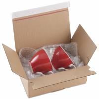 Office Webæske med Peel & Seal 210x180x130mm brun