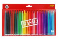 Sense Fibertusser i forskellige farver BASIC ass. 30stk