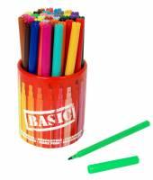 Sense Fibertusser i forskellige farver BASIC ass. 42stk i opbevaringsbeholder