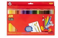 Sense Farveblyanter Standard, æske med 40 farver