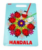 Sense Malebog Mandala med håndtag, 36 sider