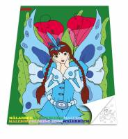 Sense Malebog med Prinsesser, 36 sider