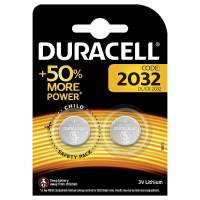 DuracellElectronics2032 litium knapcelle batteri 3V, 2 stk