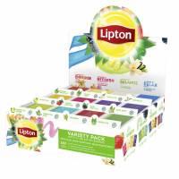 Lipton borddisplay med top 12 teæsker a 15 breve