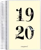 Mayland studiekalender stor 2i1 m/klap 1dag/side 20804100