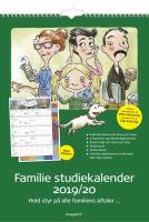 Mayland familiekalender 19/2020 30x42cm med stickers 20807900