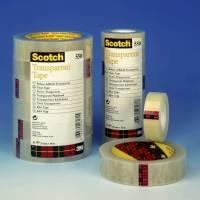 Scotch Tape kontortape 550 transparent 15mmx66m