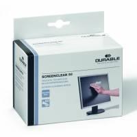 Durable Screenclean renseservietter, pakke a 50 stk