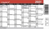 Mayland Mini kalender 12x7cm 21 0520 00