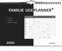 Mayland Vægkalender Familie ugeplan 30x21cm 21 0610 00