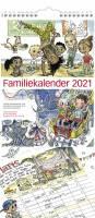 Mayland Familiekalender m/illustration 23x50cm 21 0661 00