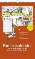 Mayland Vægkalender Familiens års 4 kolonner 24x39cm 21 0662 30