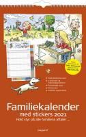 Mayland Vægkalender Familiens års 5 kolonner 27x42cm 21 0662 40
