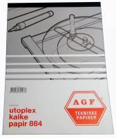 Utoplex kalkerpapirblok 884 A4 90g 50 ark