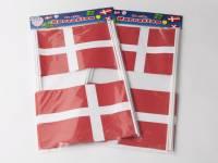 Flag papir på pind 20x27 cm, pose a 10 stk