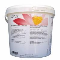 Urinal-tabletter gule 30stk med citrus duft
