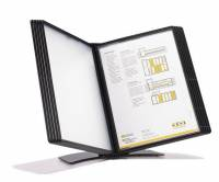 Easymount registersystem A5 til 10 lommer bordmodel sort