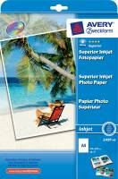 Avery fotopapir Premium A4 230 g Glossy InkJet, 40 ark