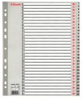 Esselte register A4 PP grå 1-31 maxi