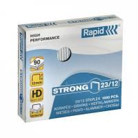 Rapid hæfteklamme 23/12 Strong galvaniseret, 1000 stk