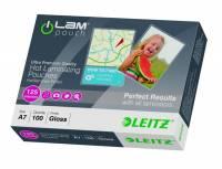 Leitz lamineringslomme A7 125 mic klar