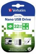 USB Flash Drive Verbatim NANO Store'n'Stay 32GB 98130